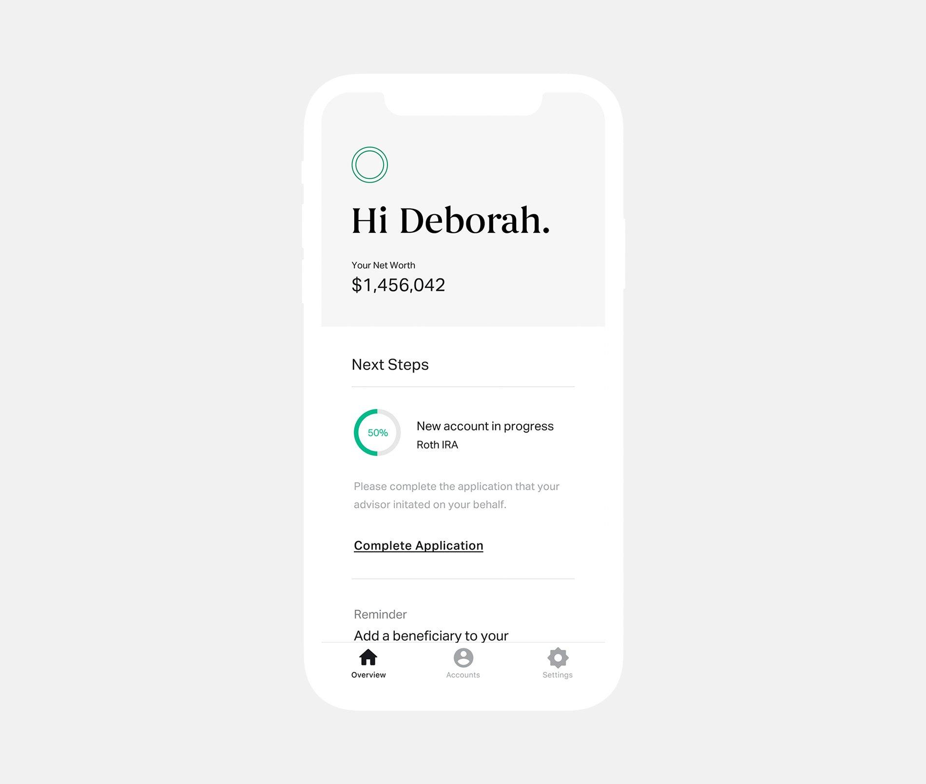 Altruist-product---client-portal